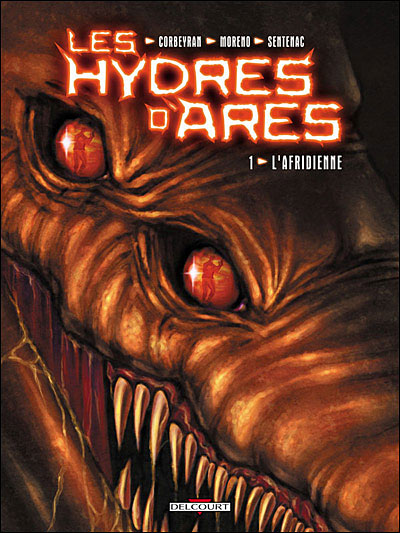 """Couverture """"Les Hydres d'Ares"""" T1"""
