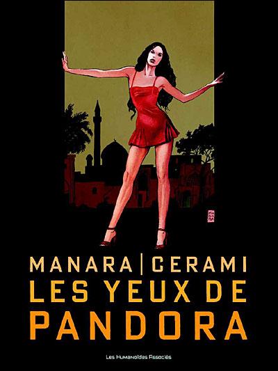 "Couverture ""Les Yeux de Pandora"" Manara / Cerami"