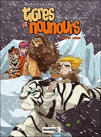 """Couverture """"Tigres et Nounours"""" Deuxième voyage"""