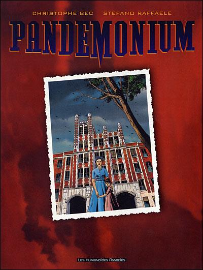 """couverture """"Pandemonium"""""""