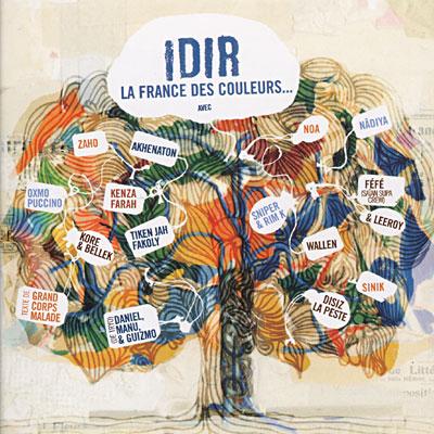 """Kabylie-Chant: """"La France des Couleurs"""", pour qui chante Idir? 0886970979825"""