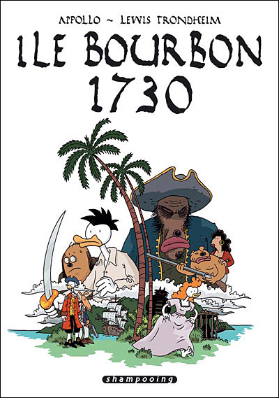"""couverture """"Ile Bourbon 1730"""""""