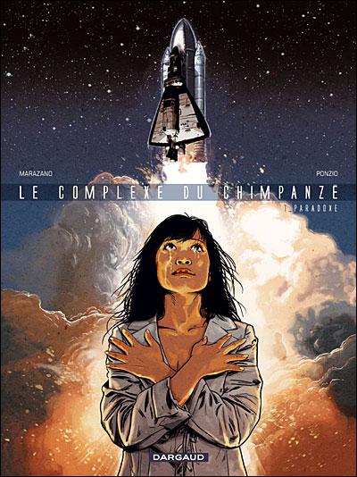 """Couverture """"Le complexe du chimpanzé"""" tome 1"""