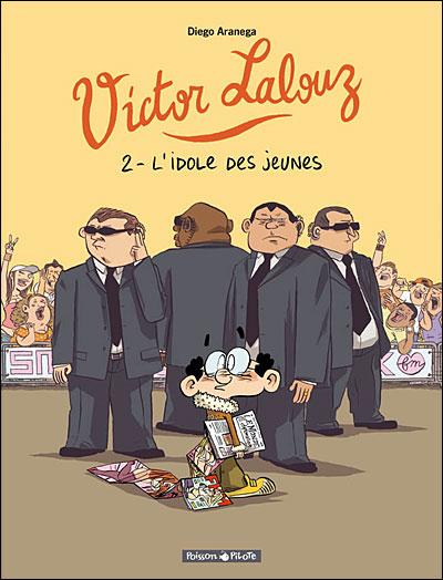 """Couverture """"Victor Lalouz"""" T2"""