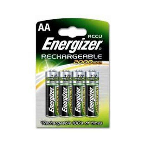 Energizer pilas recargables 2000mah hr6 4xaa en for Oferta pilas recargables