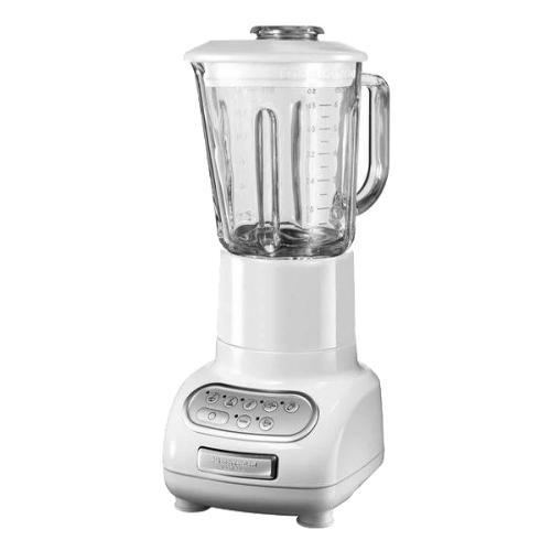 Kitchenaid batidora de vaso blanca en comprar for Robot de cocina batidora