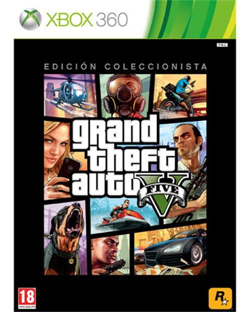 GTA V Edición Coleccionista Xbox 360