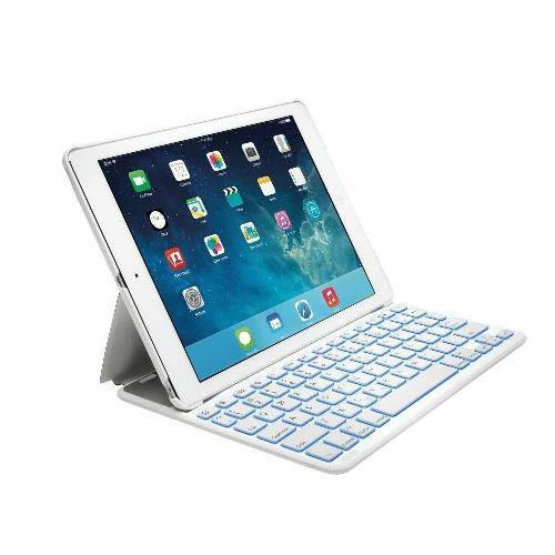896075d4c41 Funda con teclado retroiluminado Kensington Thin X2 para iPad Air 2