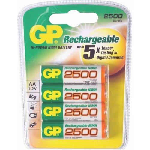 Gp pack de pilas recargables 4xaa en comprar for Oferta pilas recargables