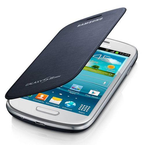 Samsung funda flipcover azul para galaxy s3 mini en comprar electr nica en - Samsung s3 mini fundas ...