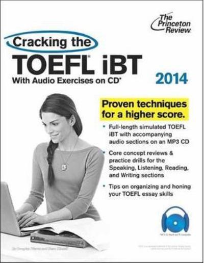 Cracking the TOEFL Ibt: 2014 (+ Audio CD). Иностранная литература. Издате