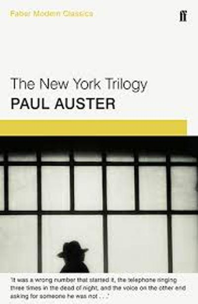 paul auster new york trilogy essay Ebscohost serves thousands of libraries with premium essays, articles and other content including cervantes in paul auster's new york trilogy get access to over 12 million other articles.