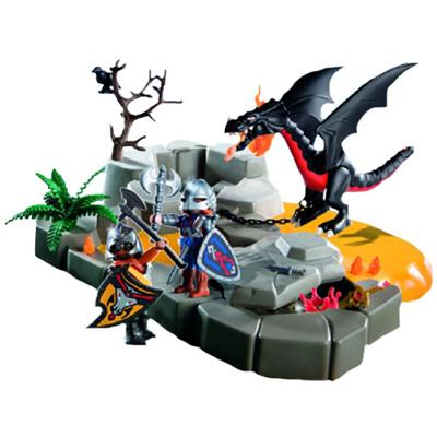Playmobil superset caballeros del dragon comprar libro for Playmobil caballeros