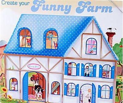 Create Your Funny Farm Colorear