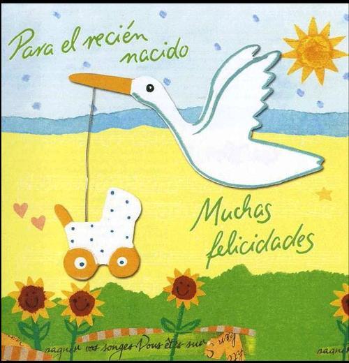 Felicidades para bebé recién nacido - Imagui