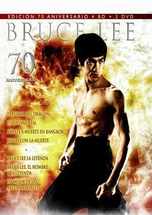 Pack Bruce Lee Edición 70º aniversario Formato Blu-Ray + DVD)