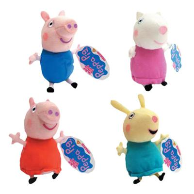 peluche peppa pig mini peluches con sonido comprar. Black Bedroom Furniture Sets. Home Design Ideas