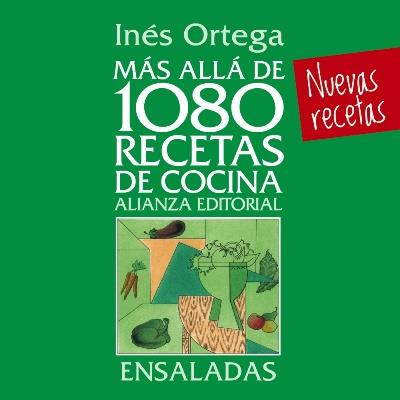 M s all de 1080 recetas de cocina ensaladas in s ortega - Libros de cocina originales ...