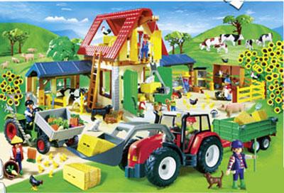 Puzzle playmobil la granja comprar libro en for La granja de playmobil precio