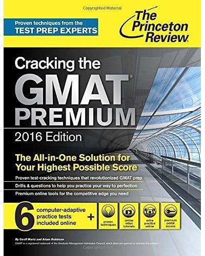 cracking the gmat premium edition 2016 pdf