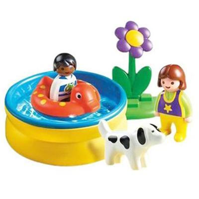 Playmobil 123 piscina comprar libro en for Piscina playmobil