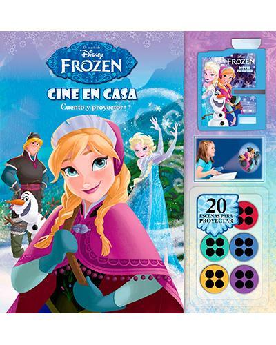 Cine en casa frozen cuento y proyector comprar libro - Proyector cine en casa ...