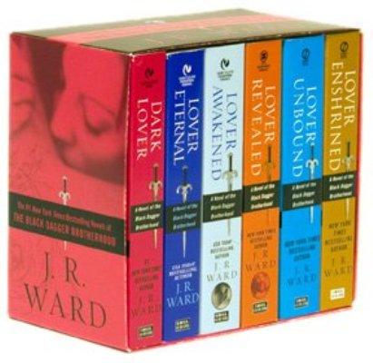 J.R. Ward libros la hermandad de la daga negra
