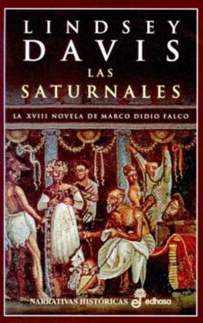 Portada libro Las Saturnales