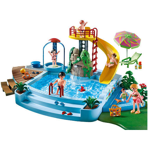 Playmobil piscina con tobogan comprar libro en for Playmobil piscina con tobogan