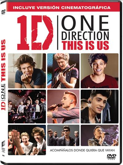 One Direction: This Is Us + 6 Pegatinas - Exclusiva Fnac