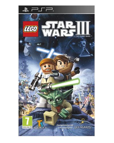 Juego Psp Lego Star Wars Iii