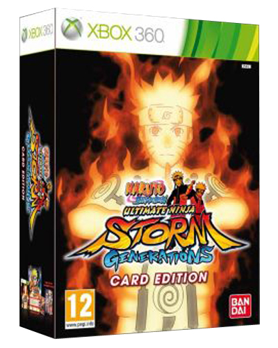 Naruto Shippuden: Ultimate Ninja Storm Generations Card Edition