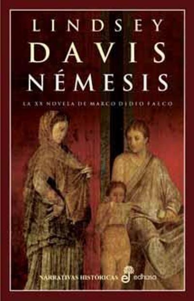 Portada libro Némesis