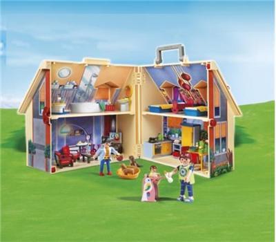 Playmobil casa de mu ecas malet n comprar libro en for Casa maletin playmobil