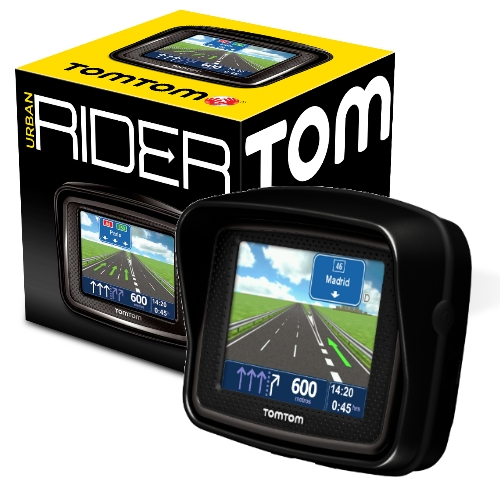 tomtom urban rider europa gps para moto gps. Black Bedroom Furniture Sets. Home Design Ideas