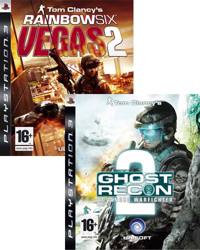 Ghost Recon Advanced Warfighter 2 + Rainbow Six Vegas 2