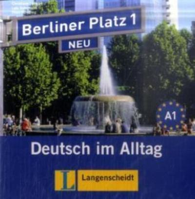 berliner platz 1 neu 2 cd audio del libro de alumno. Black Bedroom Furniture Sets. Home Design Ideas