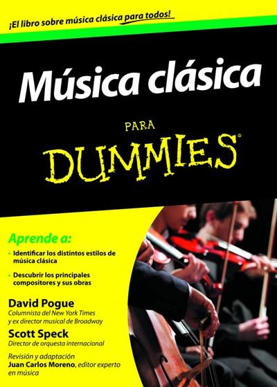 Musica Cl 225 Sica Para Dummies David Pogue Scott Speck
