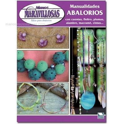 Manualidades abalorios 2 con cuentas fieltro plumas for Manualidades con plumas