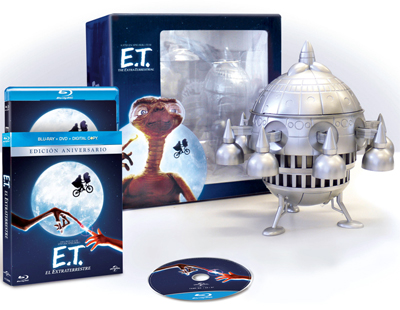 Pack Edición Especial Coleccionista E.T. El extraterrestre (Formato Blu-Ray) + Nave