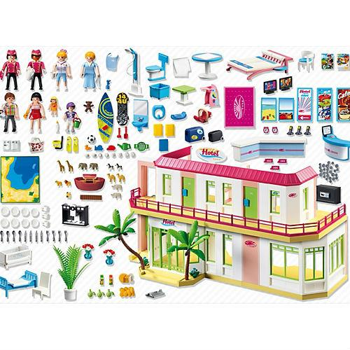 playmobil summer fun gran hotel comprar libro en. Black Bedroom Furniture Sets. Home Design Ideas