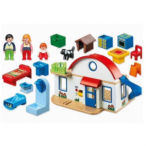 Playmobil 123 casa moderna comprar libro en for Casa moderna de playmobil 123