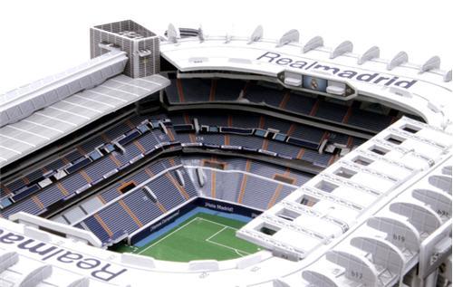 Santiago bernab u puzzle 3d del estadio del real madrid c f comprar libro en - La casa del puzzle madrid ...