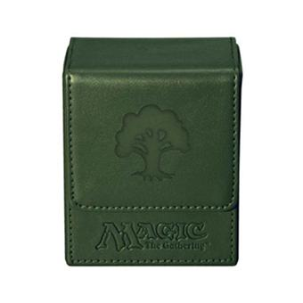 magic the gathering bo te pour cartes flip box mana vert acheter sur. Black Bedroom Furniture Sets. Home Design Ideas