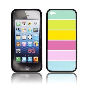 coque iphone 5 bumper vitre multicolors achat prix fnac. Black Bedroom Furniture Sets. Home Design Ideas