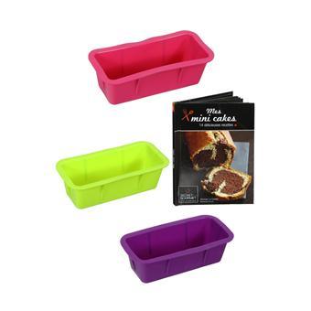 Coffret mini cakes secret de gourmet 3 moules silicone achat prix fnac - Assiette secret de gourmet ...