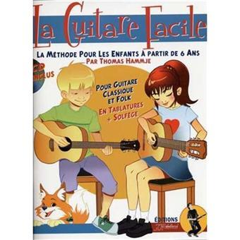 guitare facile methode pour enfants cd auteur hammje thomas auteur achat livre achat. Black Bedroom Furniture Sets. Home Design Ideas