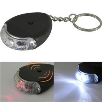 porte cle clef siffleur clignotant trouve cle mini lampe de poche a led piles fournies top. Black Bedroom Furniture Sets. Home Design Ideas
