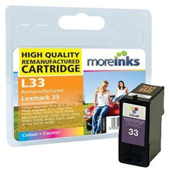 moreinks 1 cartouche d 39 encre tri couleur pour imprimante. Black Bedroom Furniture Sets. Home Design Ideas