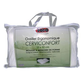 Oreiller 32 52 cm cerviconfort ergonomique achat prix fnac - Oreiller ergonomique prix ...